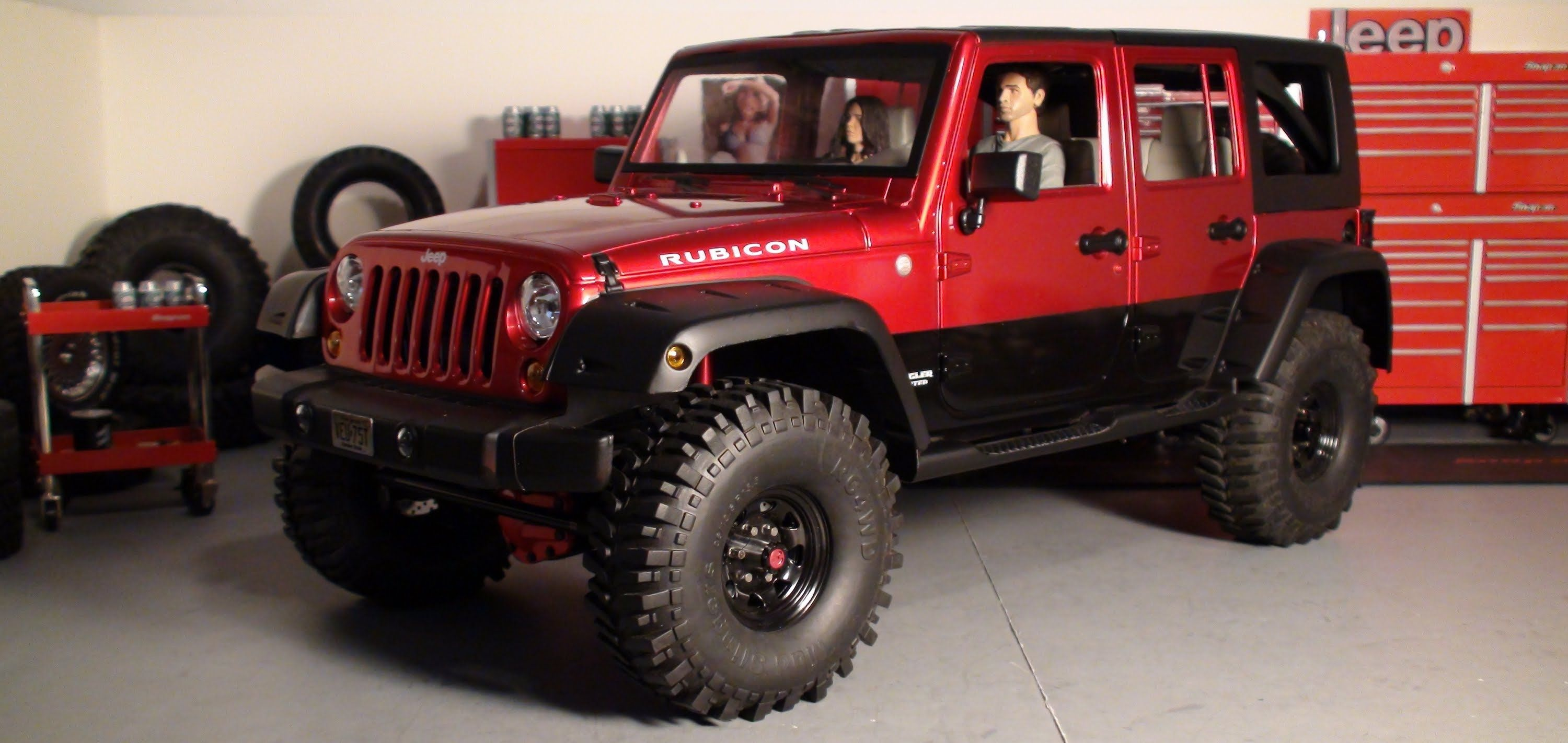 Custom Jeep Jk Wrangler Unlimited Hardbody Scale Rc Truck Video