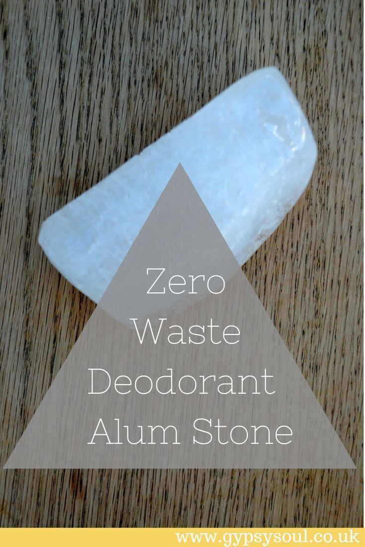 Zero Waste Deodorant Alum Stone Zero waste, Zero waste