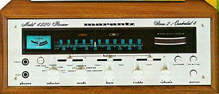 marantz 4220 stereo sound stuff pinterest rh pinterest com