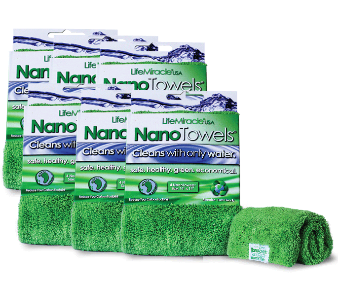 ECO FRIENDLY MAGIC CLEANING TOWELS, USE WATER NOT TOXIC CLEANERS - https://www.facebook.com/NANO-Towels-316053042061425/