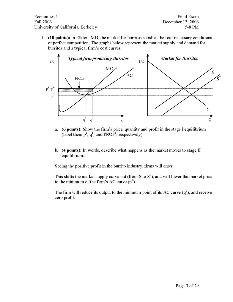 Final Exam   UC Berkeley Notes, Study Guides and Past Exams