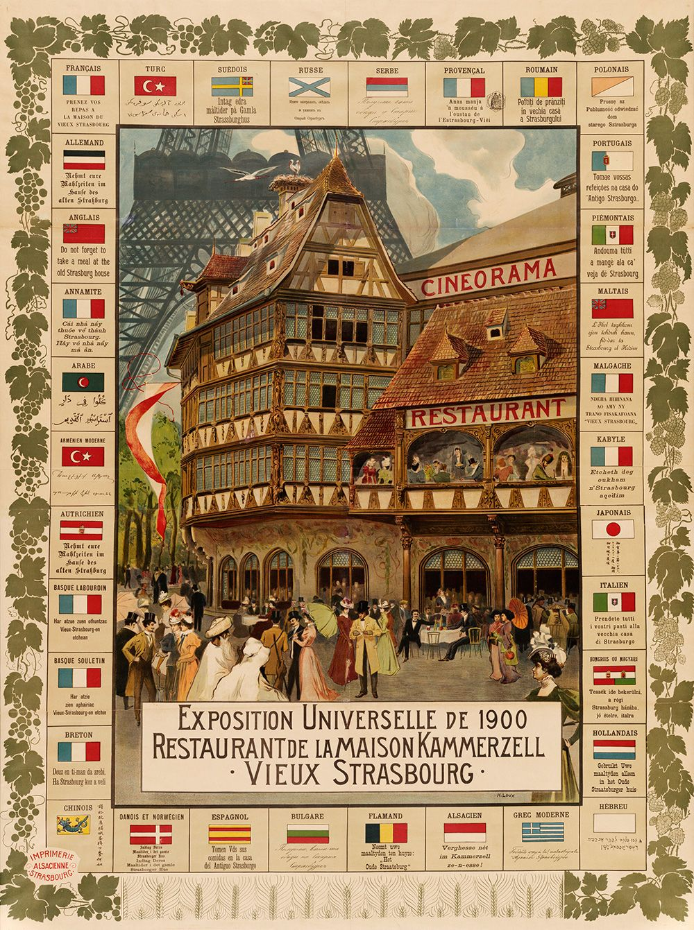 Exposition Universelle 1900 / Kammerzell Henri Loux