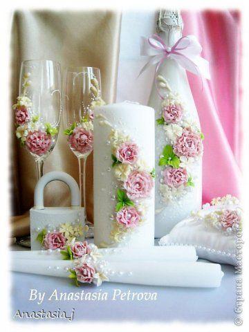 Поделка изделие Свадьба Лепка Свадебный набор Adel Пластика