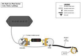 Image result for gibson les paul jr wiring diagram