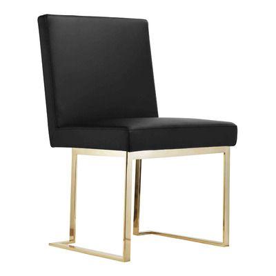 Outstanding Pangea Home Avery Side Chair Allmodern Dining Modern Evergreenethics Interior Chair Design Evergreenethicsorg
