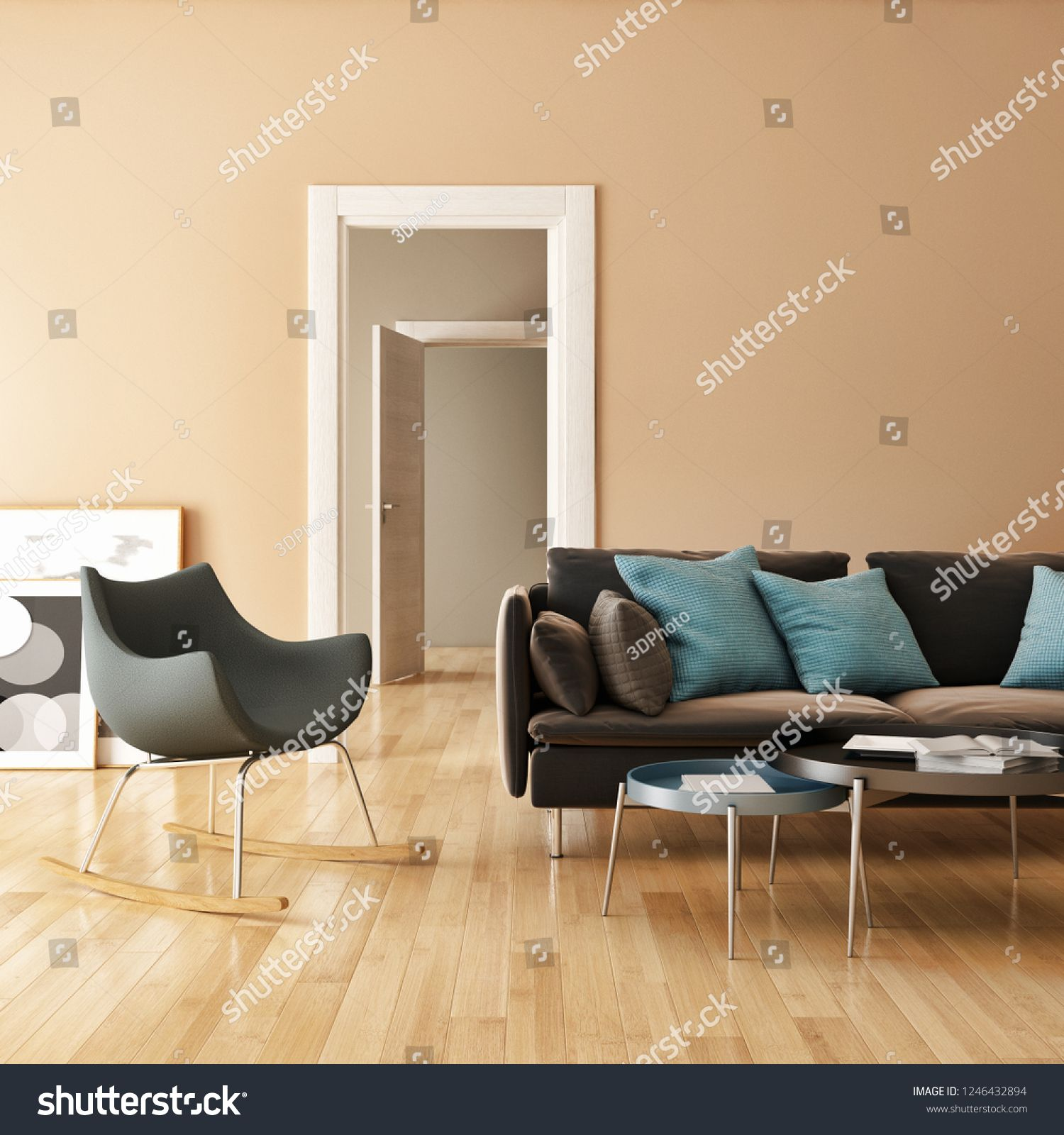 large luxury modern bright interiors room Spiced honey