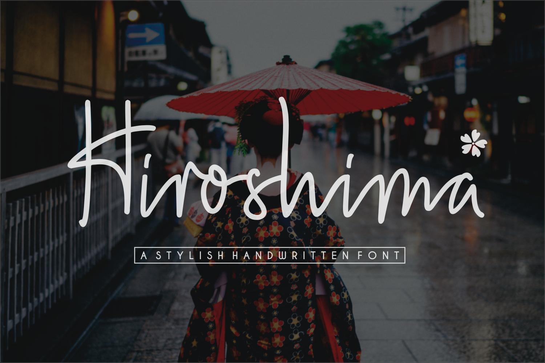 Download Hiroshima (Font) by Sronstudio   New fonts, Hiroshima ...