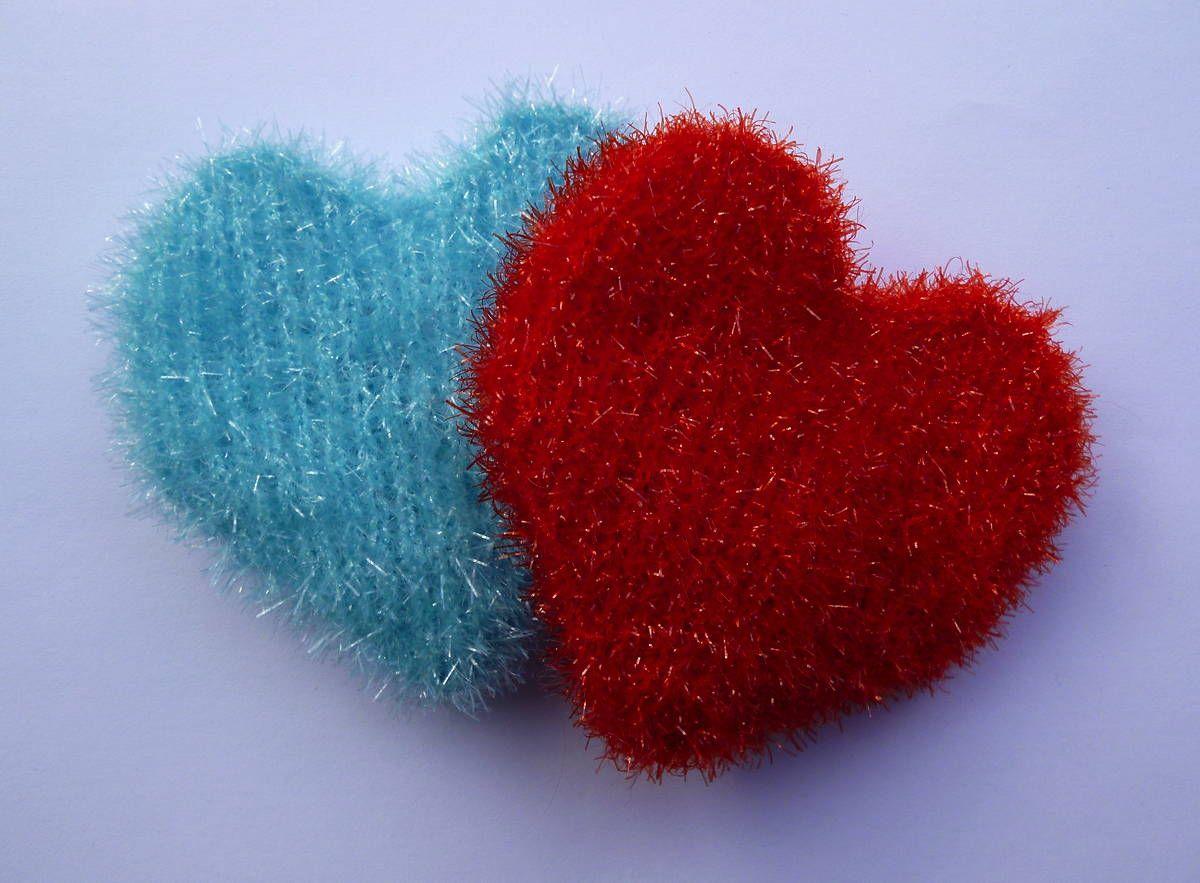 Putzschwamm Herz Spülschwämme Häkeln Crochet Crochet Patterns