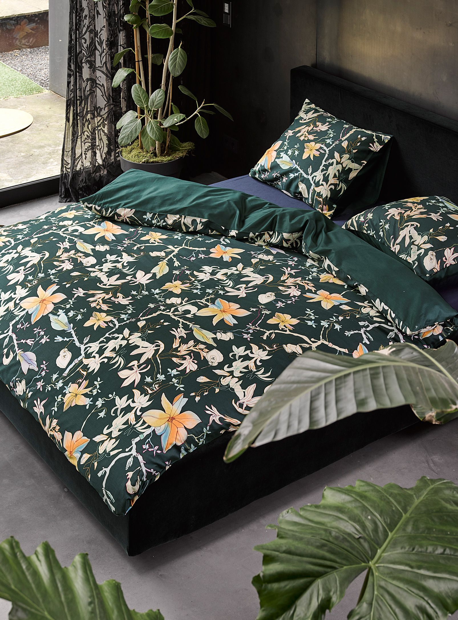 Festive bouquet duvet cover set Essenza Shop Duvet