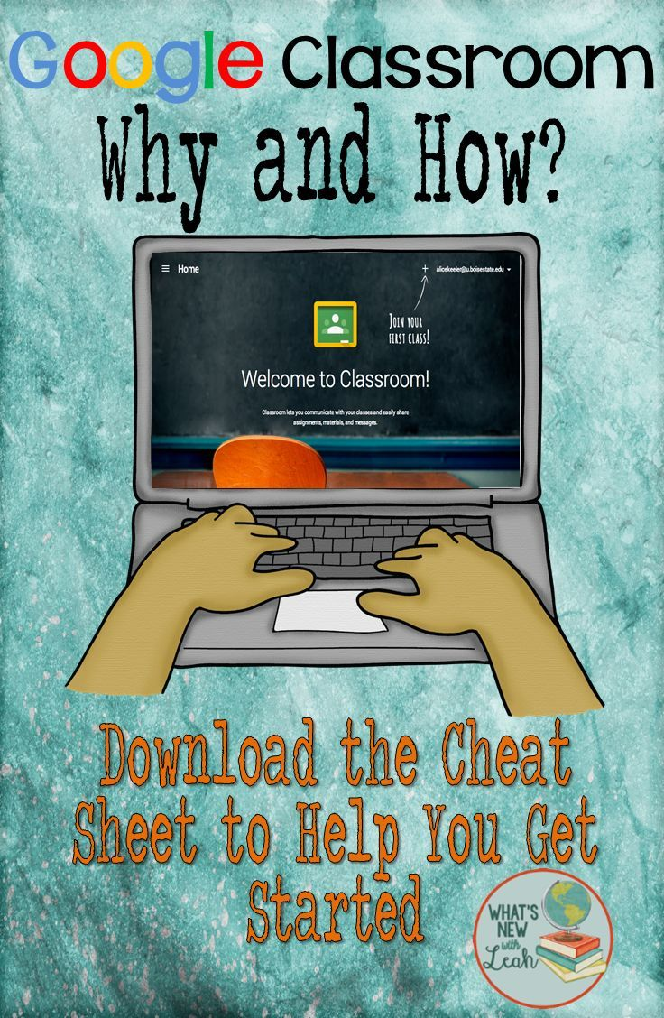 Google Classroom, The Why and How | School: Technology | Pinterest ...