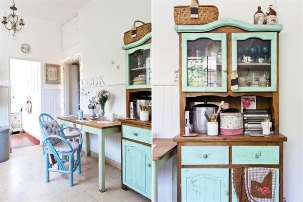 Una casa con estilo vintage moderno gabi estilo vintage for Casa estilo campo moderno