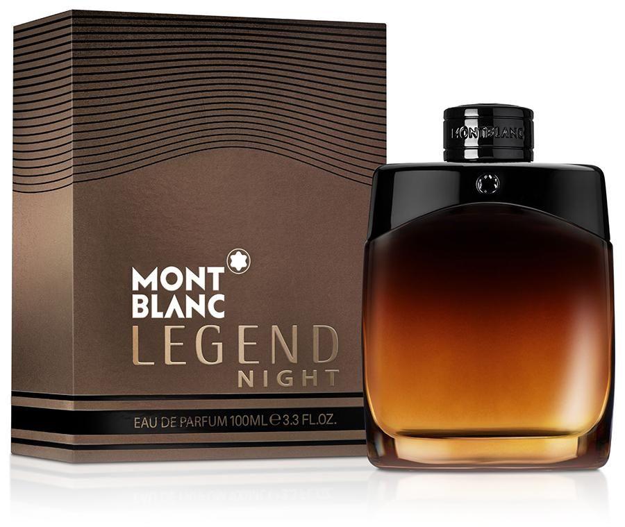 Mont Blanc Legend Night Eau De Parfum 3 3 Oz Spray Man Men Perfume Best Fragrance For Men Perfume