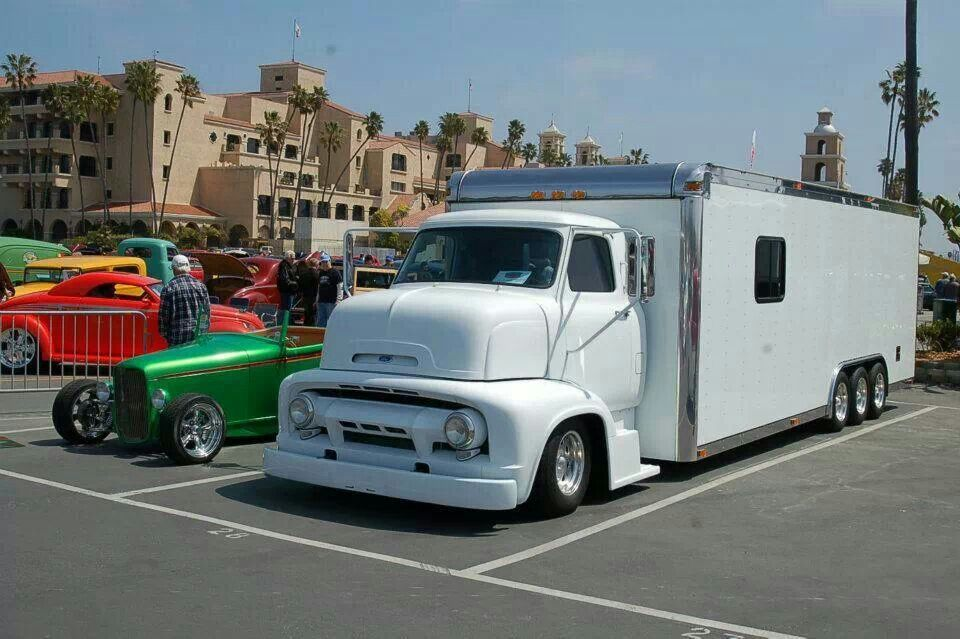 interesting early 50 39 s ford coe truck wonder if this has. Black Bedroom Furniture Sets. Home Design Ideas