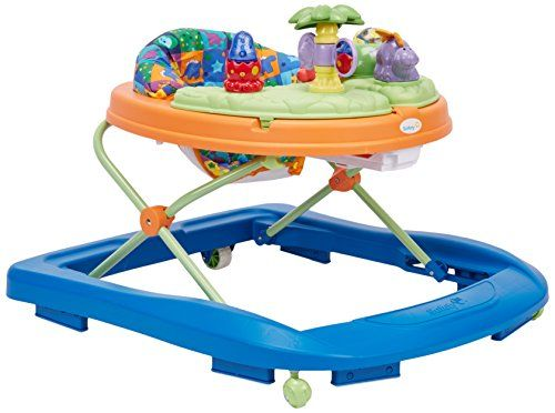 Safety 1st Sounds N Lights Discovery Walker Dino Baby Walker