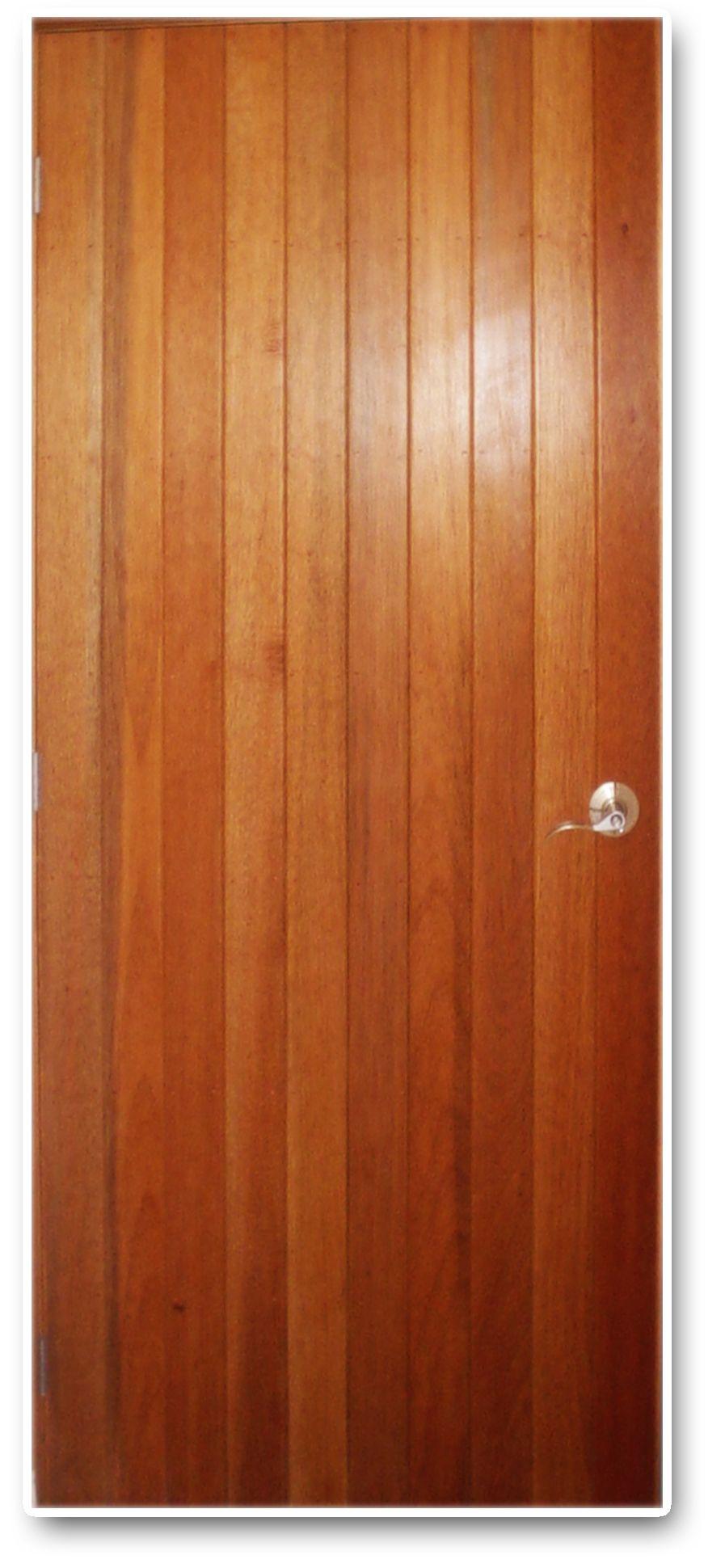 Puerta duelas madera cedro puertas doors puertas - Duelas de madera ...