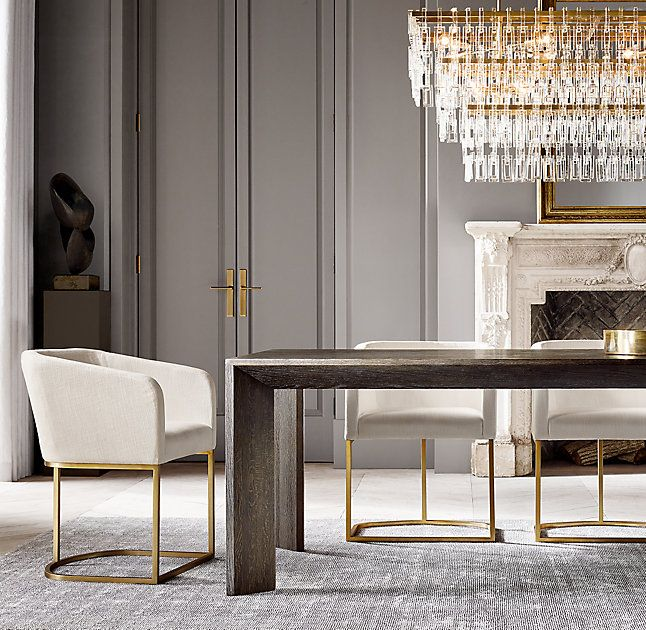 Arles Rectangular Dining Table Home Decor In 2019