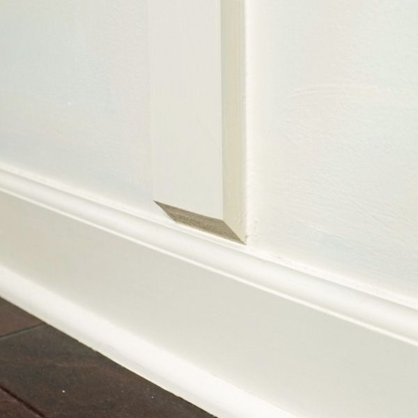 How To Install Board And Batten Without Removing Baseboards Baseboard Styles Baseboards Home