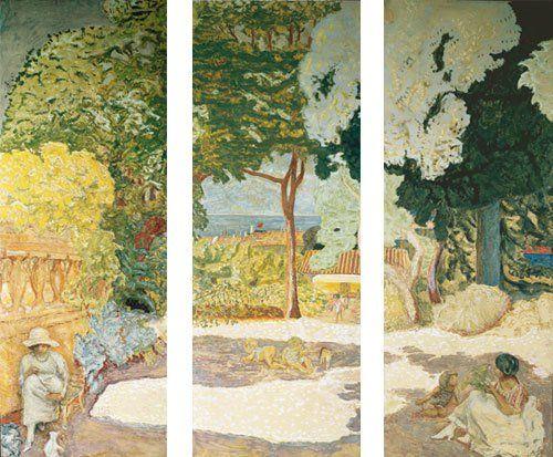 La Méditerranée (triptyque) - Pierre Bonnard, 1911