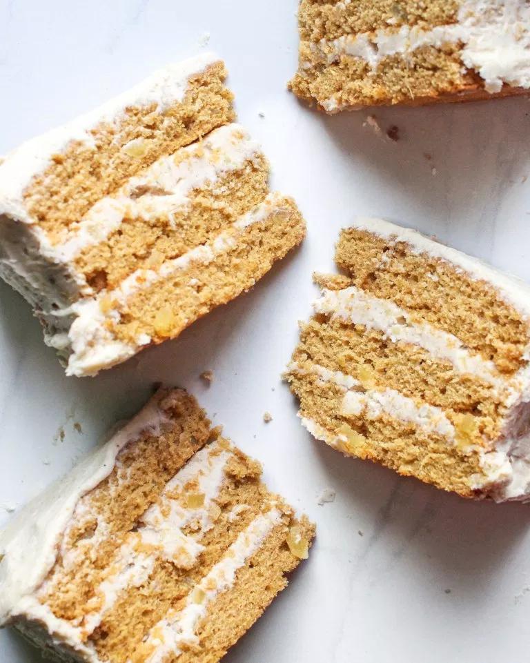 Vegan Ginger Cake with Chai Buttercream — SALT N S