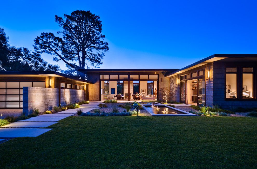 15 Ville Moderne Di Lusso Dal Design Contemporaneo Mondodesign It Esterni Casa Architettura Abitativa Design Di Esterni
