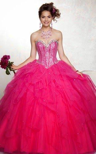 Vestidos de 15 a la moda 2014