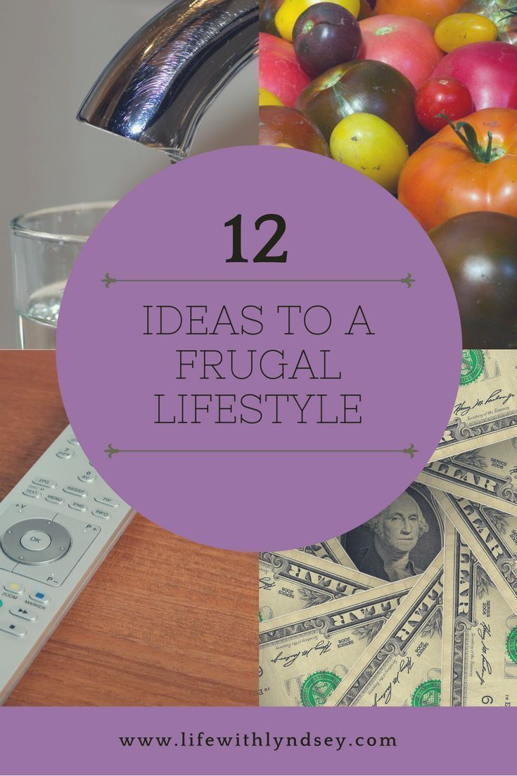 12 Ideas to a frugal lifestyle Frugal lifestyle, Saving