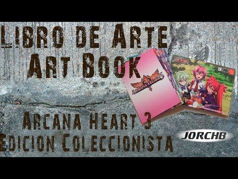 Libro de arte - Art Book | Arcana Heart 3