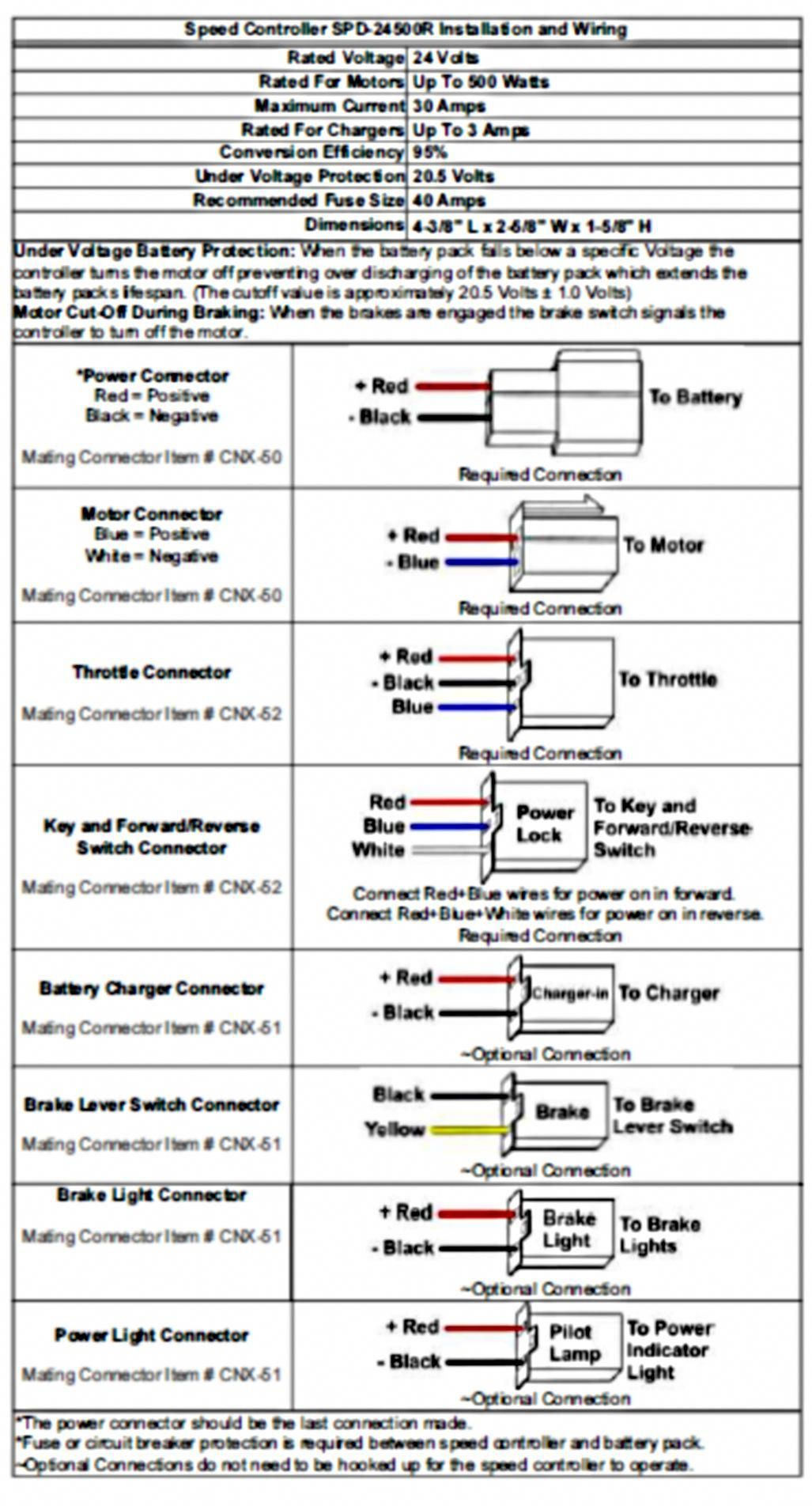 Razor Motorcycle Wiring Diagram