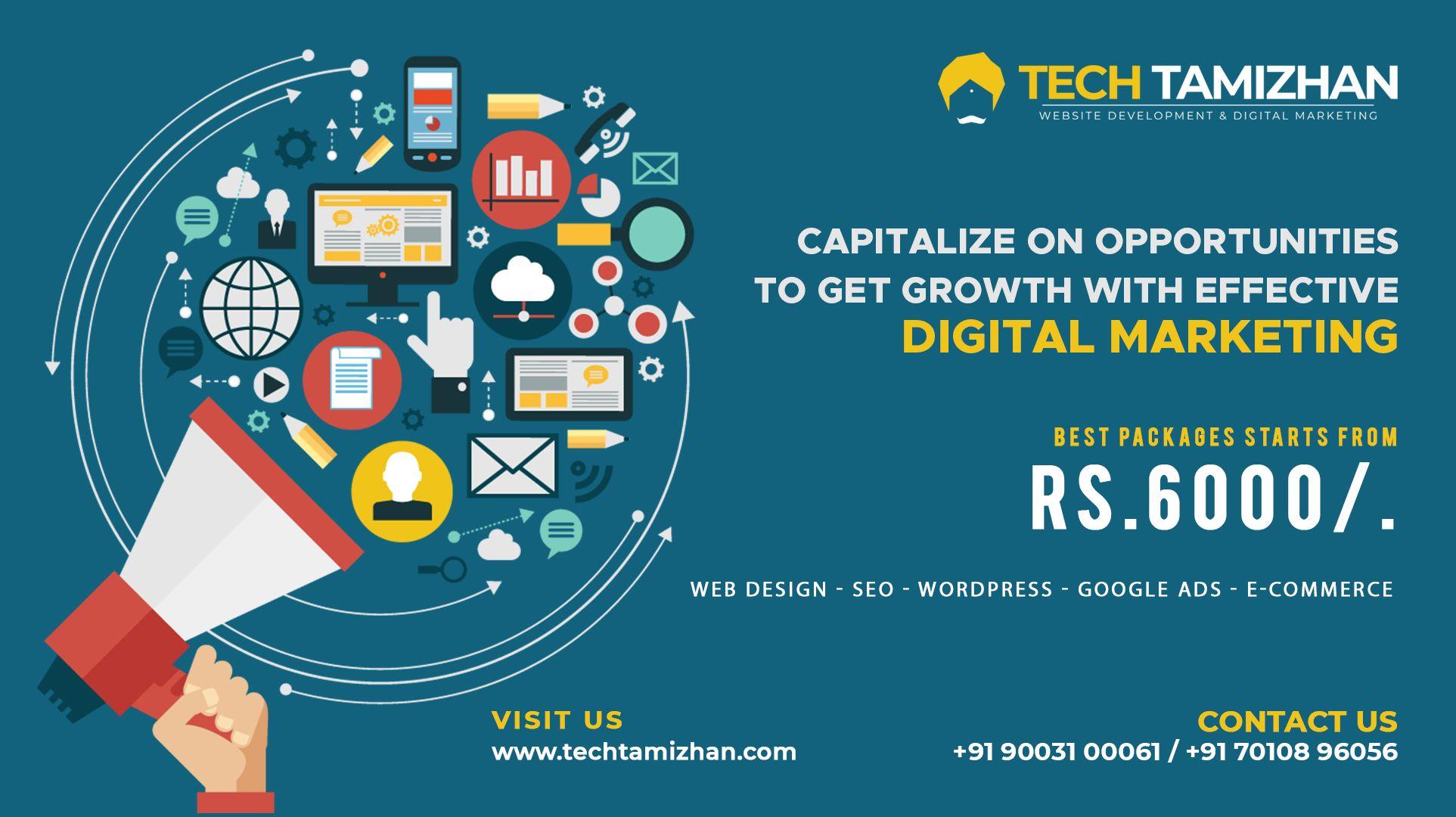 Tech Tamizhan Digital Marketing Contact Us 91 90031 00061 Visit Us Http Techtamizhan Com In 2020 Website Design Services Digital Marketing Web Design Agency