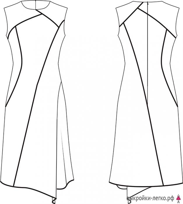Рисунки выкройки юбок