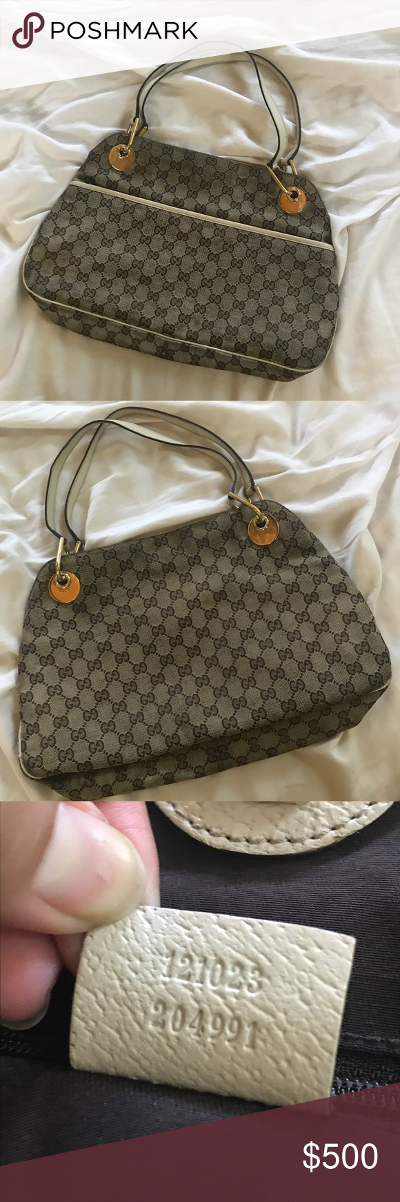 46a417d348b2 ✨Gucci Monogram Medium Eclipse Canvas Tote✨ This beautiful Gucci bag is in  excellent condition