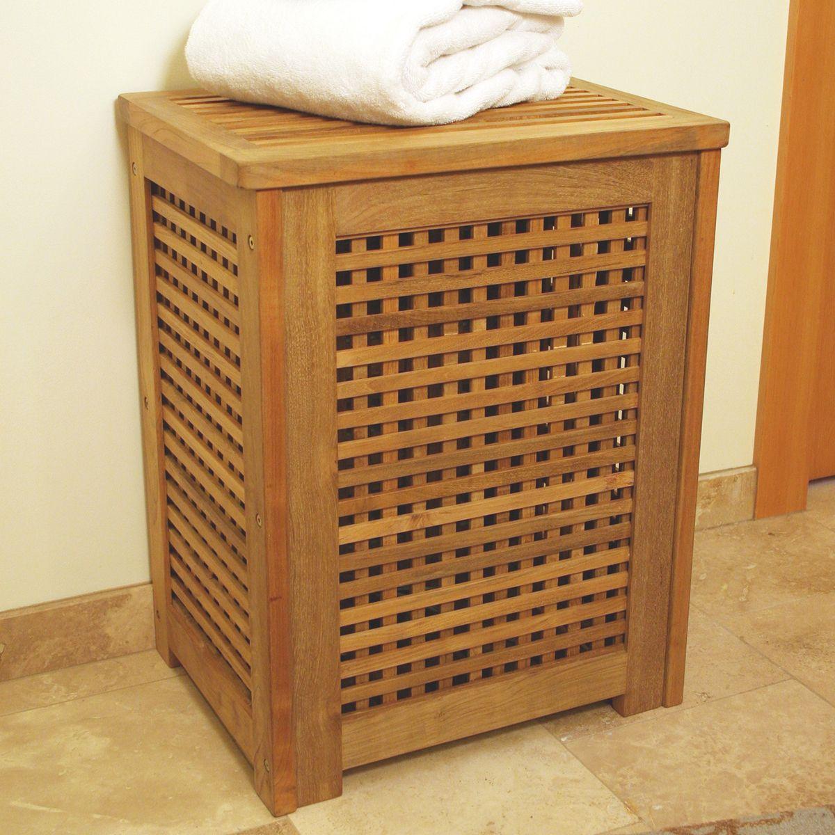 Holz Wasche Korb Design Ideen Waschesammler Selber Bauen Pinterest