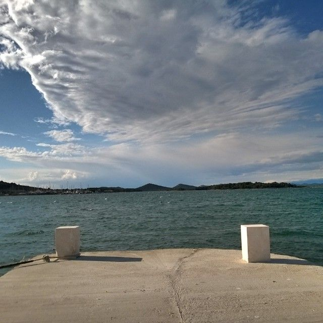 Nice view #bura #sea #cloud #port #murter #instaphoto #igersoftheday #igerscroatia #crostagram #lovecroatia #discovercroatia