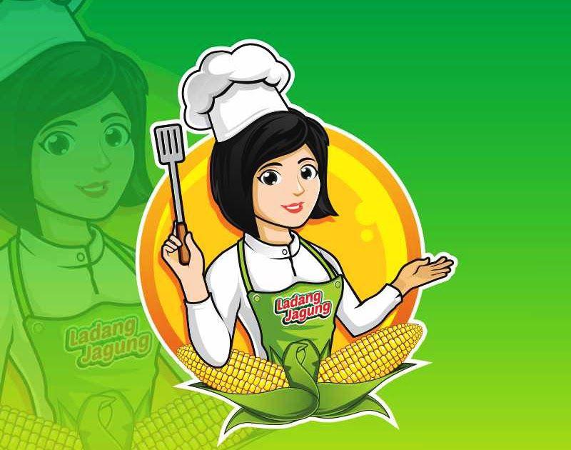 Paling Populer 19 Contoh Gambar Kartun Chef Create Gambar Kartun Woman Chef Style With Photoshop Illustrator Indesign 3 Kartun Ilustrasi Kartun Gambar Kartun