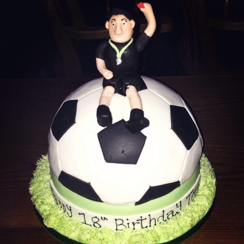 Football Referee Cake 50th Cake Celebration Cakes Cake