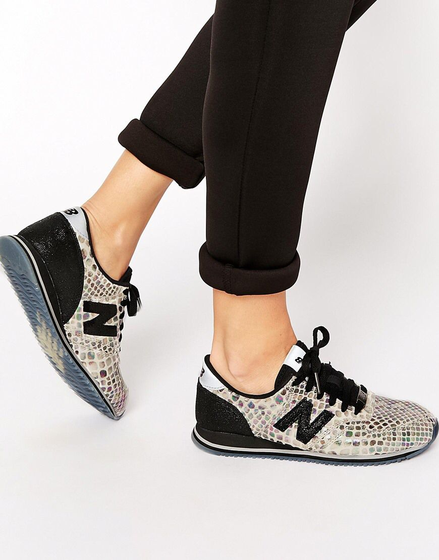 cheap for sale new style good quality New Balance 420 Metallic Trainers in 2020 | Fashion shoes, New ...