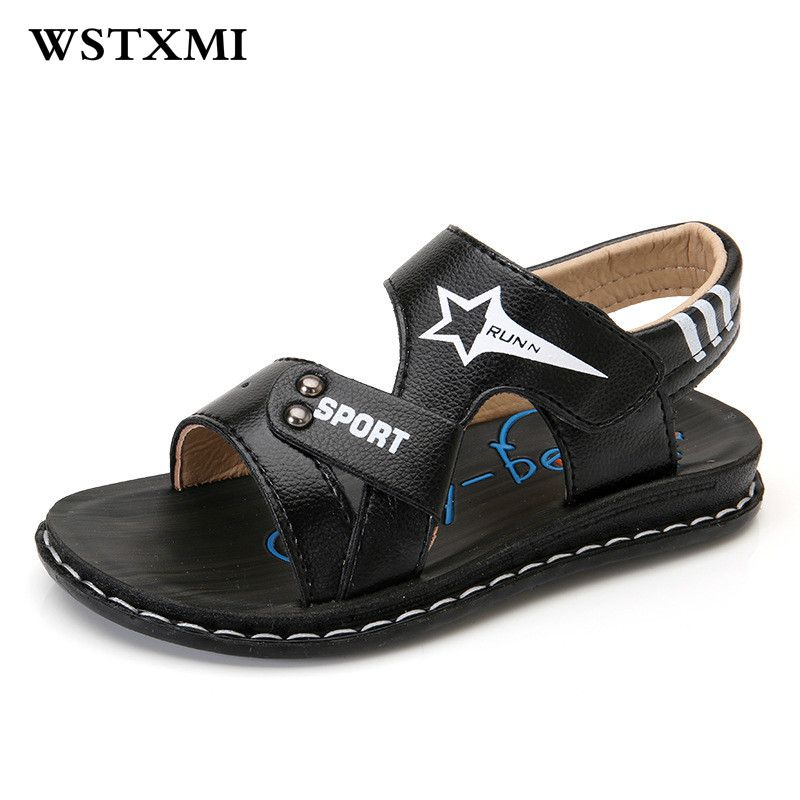 Boys Sandals Children Shoes Fashion Pu