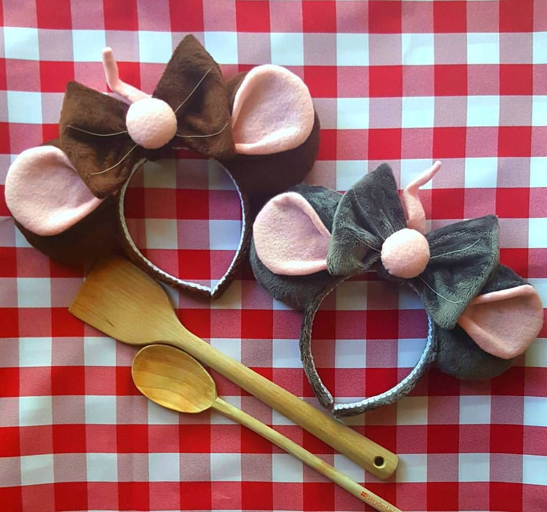 Thinking Of Including These This Saturday Anyone Interested Ratatouille Ratatoui Disney Mouse Ears Disney Mickey Ears Disney Ears