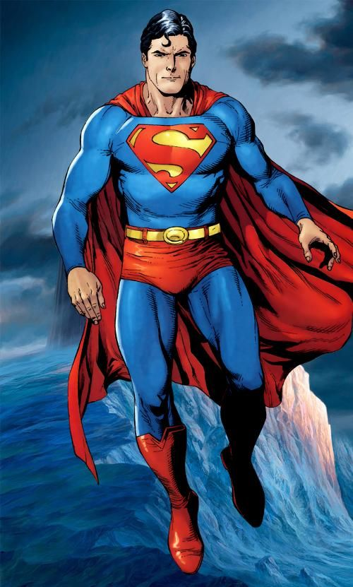 Superman Trivia:Superman's a time traveler. URL: http://cartooncharacters.org/ FB fan page: https://www.facebook.com/pages/Cartoon-Characters/606056639464917?ref=hl