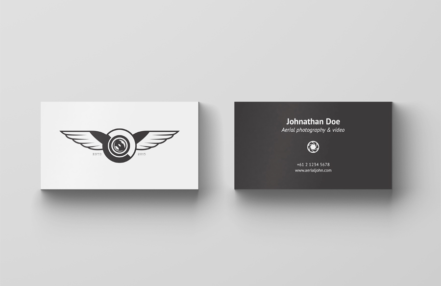 4 Business Card Mock-Ups | Simple business cards, Mockup and ...