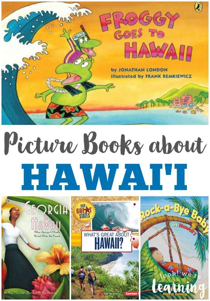 Picture Books about Hawaii Preschool books, Hawaii