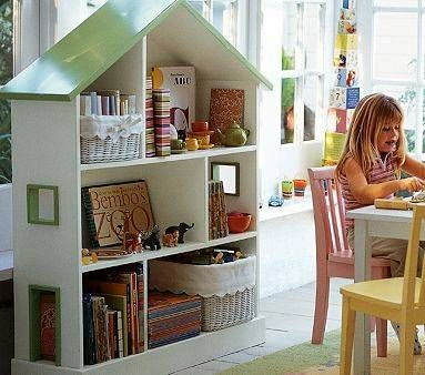 Pottery Barn Dollhouse Bookcase Plans PDF Woodworking