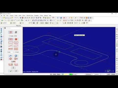 Tutorial Mastercam 2017 Mill 3D - YouTube   mastercam