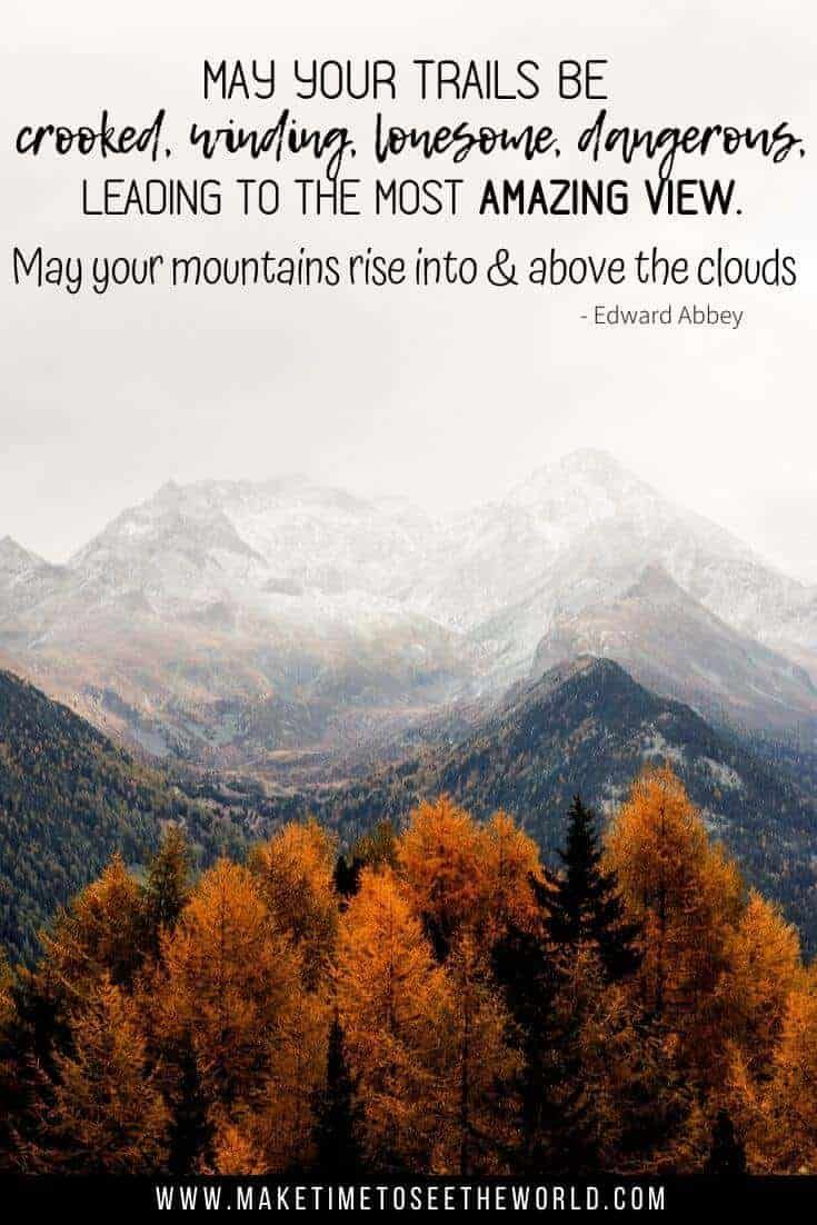 55 MOUNTAIN QUOTES -WITH PICS- FOR YOUR INSPIRATION (+ INSTAGRAM!)