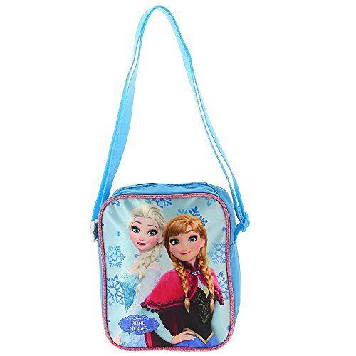 La Reine des neiges - Sac à bandoulière Anna & Elsa 18 cm 4p9uhN0E