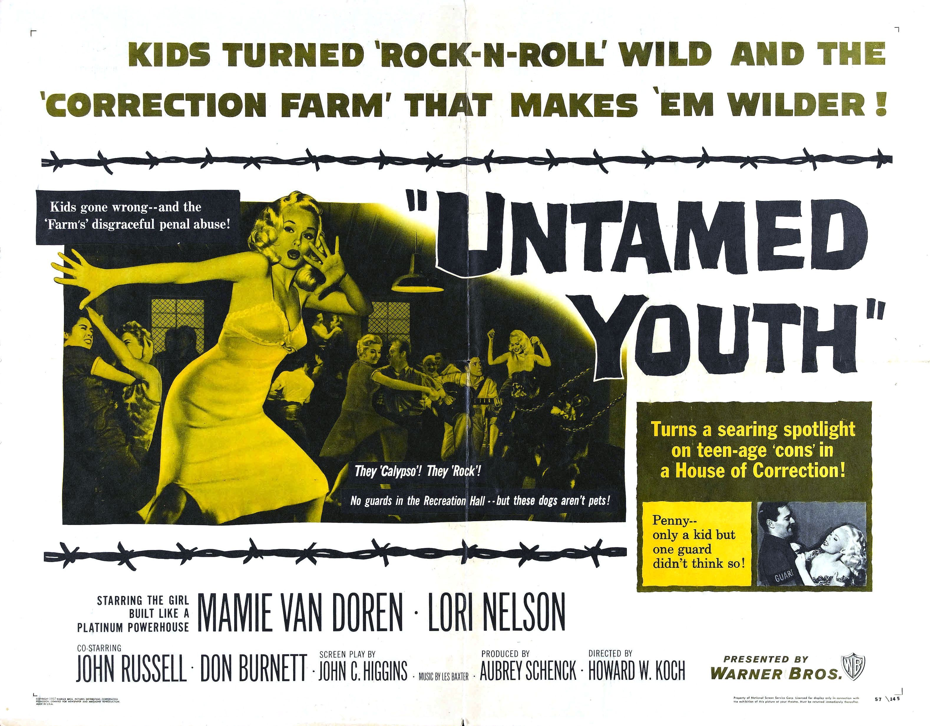 Image result for untamed youth movie poster
