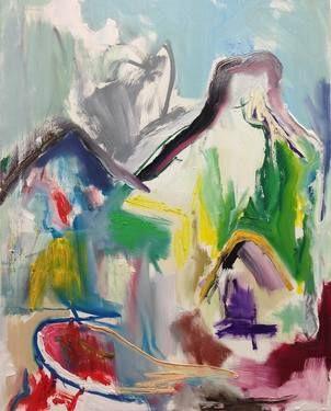 "Saatchi Art Artist Fahar Al-salih; Painting, ""Bio 1"" #art"