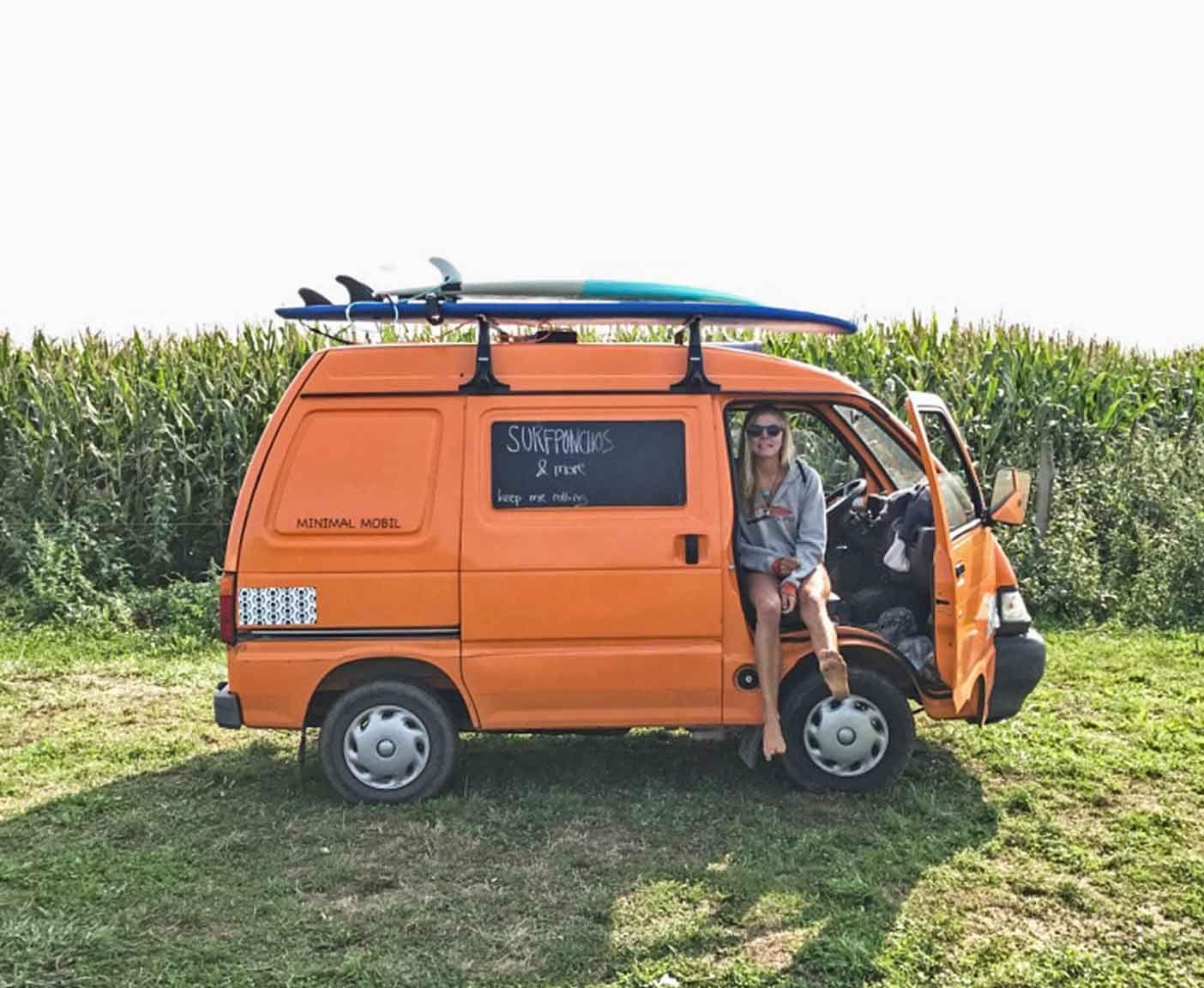 PIAGGIO PORTER Der kleinste Camper Ausbau als Wohnmobil
