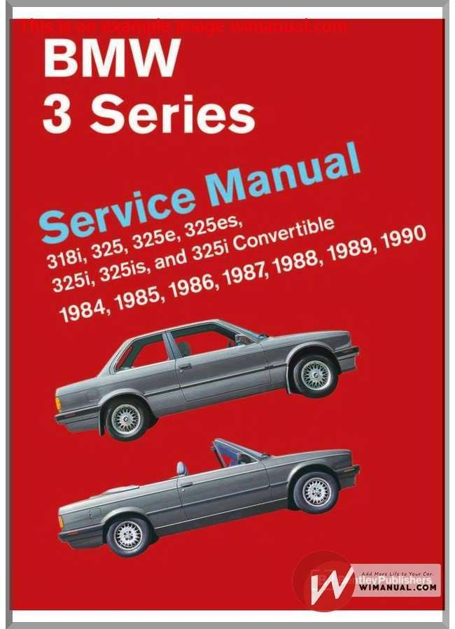 Bmw e30 bentley service manual part 1 pdf download this manual has the bmw repair manual 3 series is a comprehensive single source of service information and specifications for bmw 3 series cars from whether youre a solutioingenieria Image collections