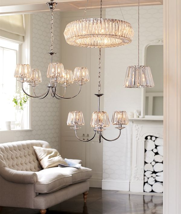 From The Laura Ashley Lighting Range Crystal Lightshome Stylelaura